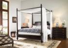 Дизайн спальни с балдахином в современном доме