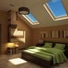 Дизайн спальни для взрослых и детей на мансардном этаже