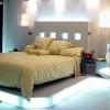 Красивое и комфортное освещение спальни без люстры