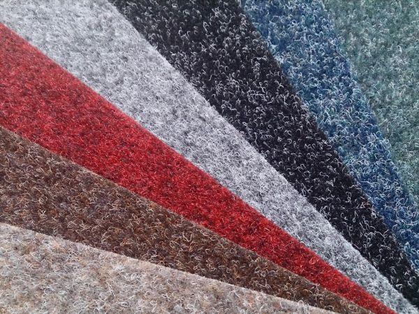 Разные цвета коврового покрытия