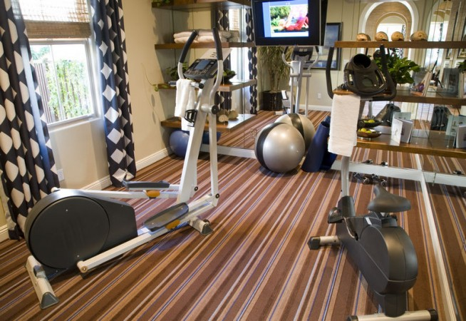 Готовый спортзал в домашних условиях