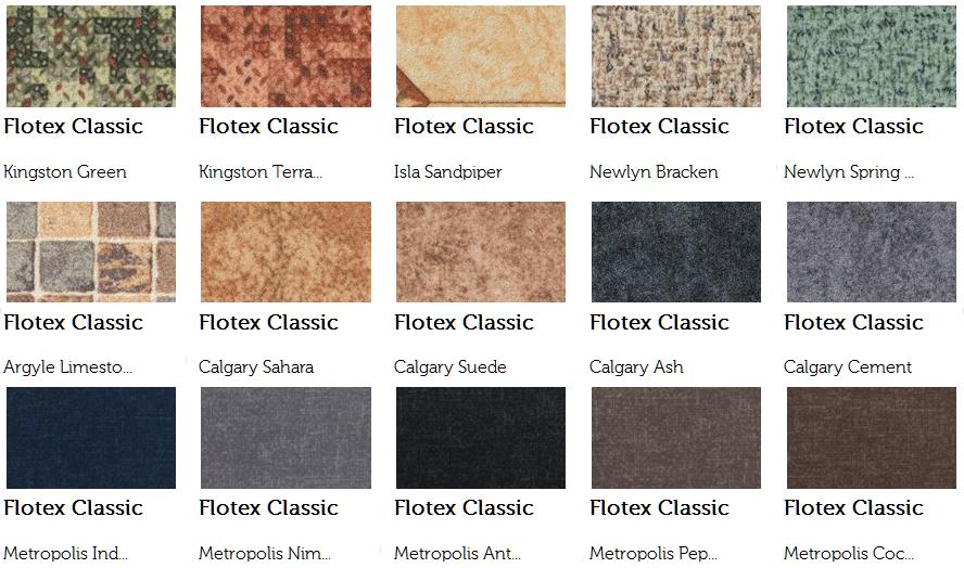 Разновидности напольных покрытий Flotex