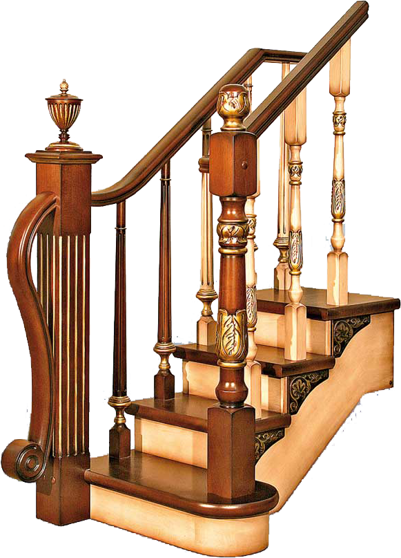 Покрытие лестницы с помощью деревянной доски
