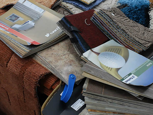 Каталог напольных покрытий из ламината в магазине