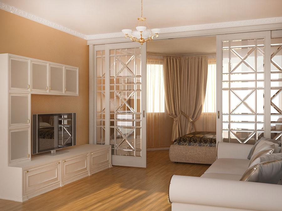 Интерьер спальни зала
