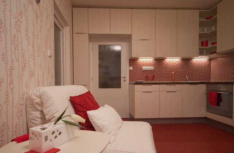 Как сделать спальное место на кухне 128